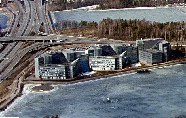 Nokia's headquarters in Finland