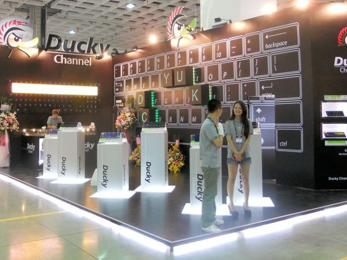 A cross channel ducky at Computex 2012