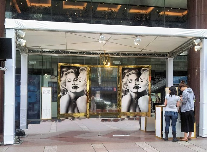 Madonna promotion in Old Taipei