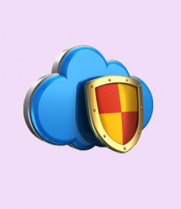 Cloud Security shield