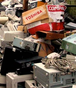 Toshiba Scrappage WEEE Recycling Green Environment