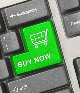 e-commerce shopping trolley