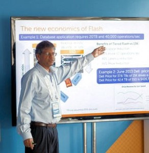 Dell Jai Menon cheif research officer flash