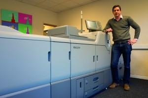 Mike Dumbreck at the Print Bureau