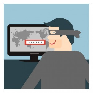 Security Data Theft Hacker