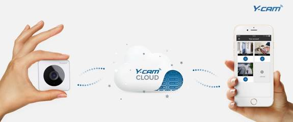 Y-cam supports smart homes with cloud surveillance