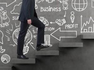 Business partner steps